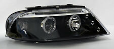 VW Passat 01-05 Black Projector Halo Angel Eyes Headlights Pair RH LH