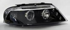 VW Passat 01-05 Black Projector Halo Angel Eyes Headlights Pair RH LH