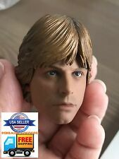 "1/6 Luke Skywalker Star Wars Head Sculpt For 12"" Hot Toys PHICEN Male Figure USA"