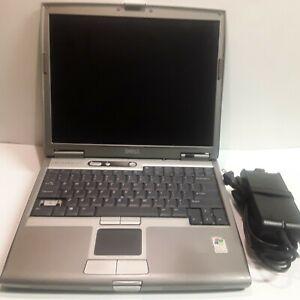 DELL LATITUDE D610 LAPTOP INTEL PENTIUM M 1.6GHz 512MB 60GB