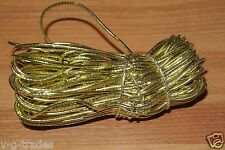 """New Lot Of 50 Qty Gold 8"""" Stretch Elastic Cord Loops Gift Jewelry Boxes"""