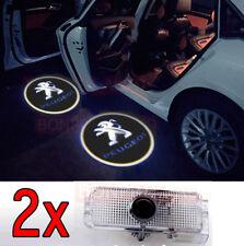 2 LED Porte Lampe Logo Projecteur Peugeot 208 307 308 3008 4008 508 5008 607 RCZ