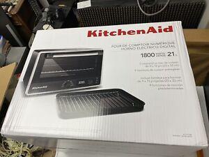 Brand New KitchenAid Digital Countertop Oven - Black Matte w/Free Shipping