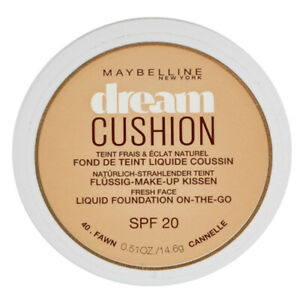 MAYBELLINE DREAM CUSHION FOUNDATION TINTED SPF20 COVERAGE LIQUID FACE MAKEUP