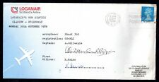 More details for gb 1989 loganair cover stornaway-glasgow sgd crew (slight water damage) ws10442