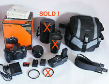 Sony A900 in TOP condition + Minolta classic lens 20mm F2.8 + more ...