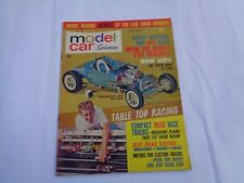 Model Car Science Magazine June 1963 Model Kits and Slot Cars - Used
