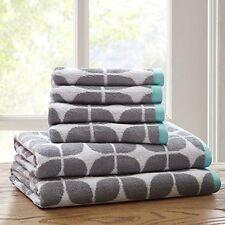 Intelligent Design ID91-523 100 Percent Cotton Jacquard 6Pcs Towel Set  NEW