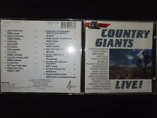 CD COUNTRY GIANTS / LIVE / RARE /