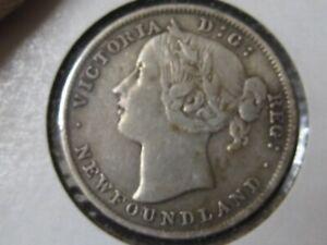 1894 Canada Newfoundland 20 Cents silver coin