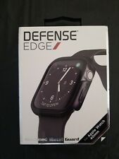 X-Doria - Defense Edge Case for Apple Watch 40mm Black Machined Metal Guard