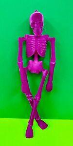 "16"" FLOCKED SKELETON! HaLLoWeeN Fun WH0058 Orange Green Purple Pink SUPER CuTe!"
