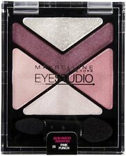 Maybelline NY Eye Studio Luminizing Eyeshadow, Pink Punch 25, 0.09 Oz (2 Pack)