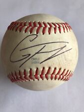 Gleyber Torres Signed Game Used Midwest League Minor League Baseball W/JSA CERT