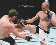 EVAN DUNHAM SIGNED AUTO'D 8X10 PHOTO MMA UFC 95 115 216 156 FIGHT NIGHT A