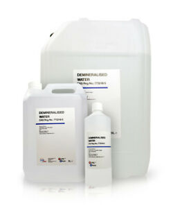 Demineralised Water Pure Chem 100% Ultra Pure Water Multi Listing (White)