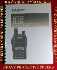 Highest Quality ~ Yaesu FT-4VR/VE Operating Manual; 😊😊C-MY OTHER MANUALS😊😊
