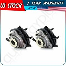 Pair New Front Right & Left Wheel Hub Bearing Assembly For Ford Ranger 4X4 4 WD