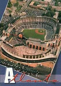 Aerial of Turner Field, Home of the Atlanta Braves --- Baseball Stadium Postcard