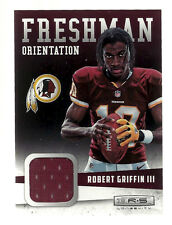 ROBERT GRIFFIN 2012 PANINI ROOKIE RED JERSEY CARD CLEVELAND BROWNS BAYLOR BEARS
