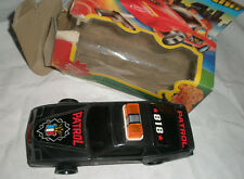 Battery operated Plastic Patrol car 1988 Taiwan