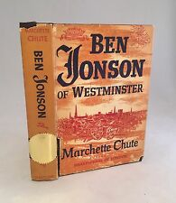 Ben Jonson Of Westminster-Marchette Chute-TRUE First Edition/1st Printing-RARE!!