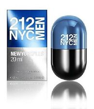 CAROLINA HERRERA 212 MEN NYC NEW YORK PILLS 20ML EDT BRAND NEW & BOXED