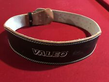 "Valeo 4"" Leather Weight Lifting Belt - 44"" Long Gently Used"