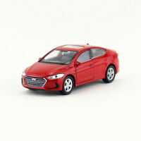 1:36 Hyundai Elantra Car Model Alloy Diecast Toy Vehicle Red Gift Pull Back Kids