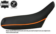 GRIP CARBON ORANGE STRIPE CUSTOM FITS KTM LC4 620 BOLT DOWN MODEL SEAT COVER