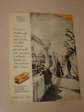KODAK PELLICOLA FOTOGRAFIE FILM=ANNI '50=PUBBLICITA=ADVERTISING=WERBUNG=409
