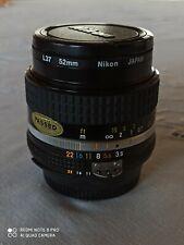 Obiettivo Nikon AI-S 28mm f 3,5