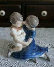 B&G Bing & Grondahl Brother Sister #1568 Children Playing Figurine, Denmark