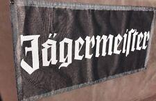 2x4' Jägermeister Flag  Banner Backdrop Heavy Duty Material Rock Vinyl Sunscreen
