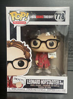 The Big Bang Theory: Leonard Hofstadter Red Robe/ Sarcasm #778 Funko Pop Vinyl