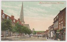 Shropshire postcard - Market Place, Cleobury Mortimer