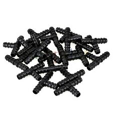 20pcs16mm Tee Hose Joiner Plastic Barbed T Bar Connector Pipe Fitting Irrigation