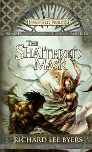FORGOTTEN REALMS: THE SHATTERED MASK - Fantasy Novel - engl. - D&D - WTC