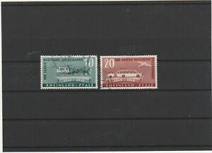 BIZONE / Allgem. Ausgaben SBZ / Rheinland / Pfalz Mi. Nr. 49 - 50