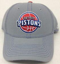 NBA Detroit Pistons Adidas Snap Back Cap Hat Beanie Style #VL03Z NEW!