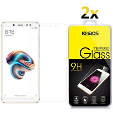 2-Pack Khaos For Xiaomi Redmi Note 5 Pro Tempered Glass Screen Protector