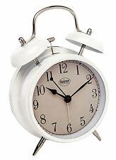 Balance Quarz Wecker analog Nostalgie weiß 632594 Wecker Glocke Retro Quartz Uhr