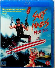 Surf Nazis Must Die -Blu-Ray -NEW -80s Cult Comedy Classic (88 Films) All Region