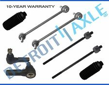 2005-2010 Ford Mustang Front Inner & Outer TieRod End Sway Bar End Link Kit 8pc