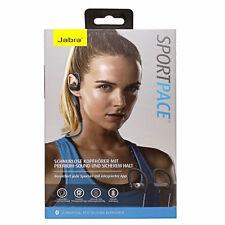 Jabra Premium Bluetooth Sport Pace Stereo Headset Ohrhörer blau