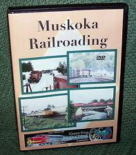 "20190 TRAIN VIDEO DVD ""MUSKOKA RAILROADING"" THE NORTH END TORONTO"