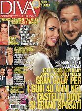 Diva 2016 41#Francesco Totti & Ilary Blasi,Flavio Insinna,Alma Manera,M.Hunziker