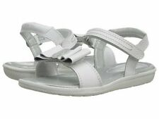 NIB STRIDE RITE Sandals Meena White Bow 9 10 11.5 12