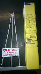 Elettrodo basico per saldatura ACCIAIO INOX da ø3,2x350mm basico per inox