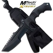 "11"" MTECH XTREME TACTICAL COMBAT HUNTING KNIFE Survival Military Fixed Blade"